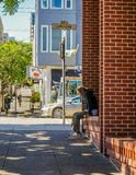 Οδός Σαν Φρανσίσκο στοκ εικόνες