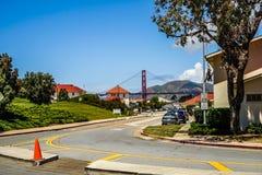 Οδός Σαν Φρανσίσκο στοκ εικόνες με δικαίωμα ελεύθερης χρήσης
