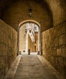 Οδός σε της Μάλτα Mdina στοκ φωτογραφία