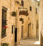 Οδός σε της Μάλτα Mdina στοκ φωτογραφία με δικαίωμα ελεύθερης χρήσης