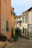 Οδός σε Arles Στοκ Φωτογραφίες