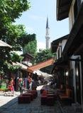 Οδός σε Bascarsija, Σαράγεβο Στοκ φωτογραφίες με δικαίωμα ελεύθερης χρήσης