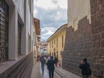 Οδός σε Cusco Στοκ Εικόνα