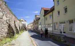 Οδός σε Meissen Στοκ Εικόνες