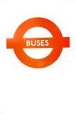 οδός σημάτων στο παλαιό εικονίδιο μεταφορών του Λονδίνου Αγγλία Ευρώπη Στοκ Εικόνες