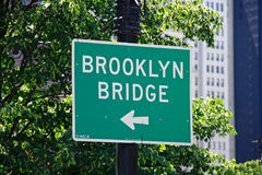 οδός σημαδιών του Μπρούκλ Στοκ εικόνα με δικαίωμα ελεύθερης χρήσης
