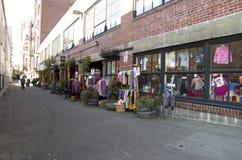 Οδός Σιάτλ αλεών Στοκ φωτογραφία με δικαίωμα ελεύθερης χρήσης