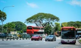 οδός Σινγκαπούρης Στοκ Εικόνες