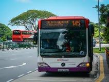 οδός Σινγκαπούρης Στοκ φωτογραφία με δικαίωμα ελεύθερης χρήσης