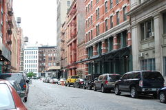 οδός σπιτιών franklin σύλληψης kahn strauss  Στοκ εικόνα με δικαίωμα ελεύθερης χρήσης