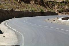 Οδός στην Αιθιοπία Στοκ Εικόνες