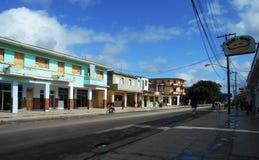 Οδός στην παλαιά Αβάνα στοκ εικόνα