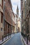 Οδός στην Τουλούζη Στοκ εικόνες με δικαίωμα ελεύθερης χρήσης