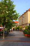 Οδός στη Δρέσδη Στοκ Εικόνες