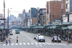 Οδός στο Κιότο Στοκ Φωτογραφίες