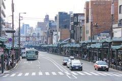 Οδός στο Κιότο Στοκ Φωτογραφία