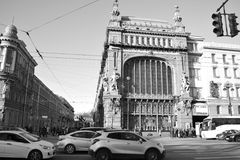 Οδός της Αγία Πετρούπολης Στοκ Φωτογραφίες
