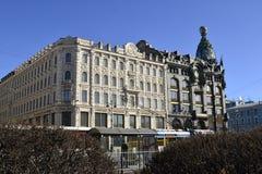 Οδός της Αγία Πετρούπολης Στοκ εικόνα με δικαίωμα ελεύθερης χρήσης