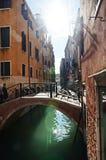Οδός της Βενετίας Στοκ Εικόνα