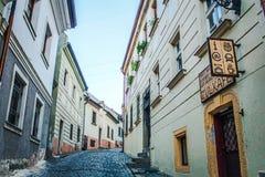 οδός της Βρατισλάβα στοκ εικόνα με δικαίωμα ελεύθερης χρήσης