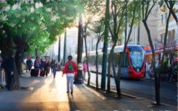 Οδός της Ιστανμπούλ Στοκ εικόνα με δικαίωμα ελεύθερης χρήσης