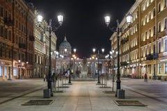 Οδός της Μαλαισίας Konyushennaya, Αγία Πετρούπολη Στοκ Εικόνες