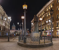Οδός της Μαλαισίας Konyushennaya, Αγία Πετρούπολη Στοκ Φωτογραφίες