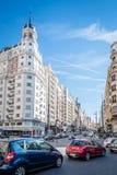 οδός της Μαδρίτης Στοκ Φωτογραφία