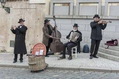 οδός της Πράγας καλλιτεχνών Στοκ εικόνες με δικαίωμα ελεύθερης χρήσης