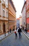 Οδός της Πράγας Στοκ εικόνες με δικαίωμα ελεύθερης χρήσης