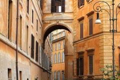 οδός της Ρώμης Στοκ φωτογραφία με δικαίωμα ελεύθερης χρήσης