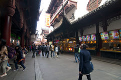 Οδός της Σαγκάη Chenghuangmiao Στοκ εικόνες με δικαίωμα ελεύθερης χρήσης