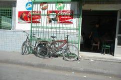 οδός της Τυνησίας Στοκ φωτογραφία με δικαίωμα ελεύθερης χρήσης
