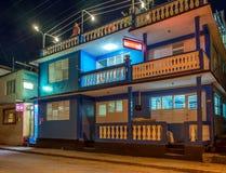 Οδός τη νύχτα Κούβα Baracoa Στοκ Φωτογραφία