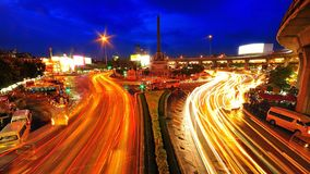 Οδός τη νύχτα Στοκ φωτογραφίες με δικαίωμα ελεύθερης χρήσης