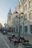 Οδός του Άγιου Βασίλη στη Μόσχα Στοκ Φωτογραφίες