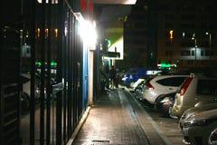 Οδός του Αμπού Ντάμπι Στοκ Εικόνες