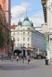 Οδός του Λουμπλιάνα Στοκ εικόνες με δικαίωμα ελεύθερης χρήσης