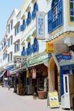 Οδός του Μαρόκου Στοκ Εικόνες