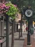 Οδός του Μπέντφορντ σε Stamford, Κοννέκτικατ Στοκ Εικόνες
