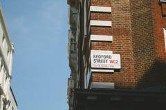Οδός του Μπέντφορντ στοκ φωτογραφίες