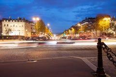 οδός του Παρισιού Στοκ Εικόνα