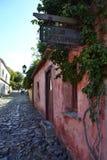 Οδός του Σακραμέντο Colonia del Στοκ Φωτογραφία