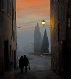 Οδός του S Quirico Στοκ φωτογραφία με δικαίωμα ελεύθερης χρήσης