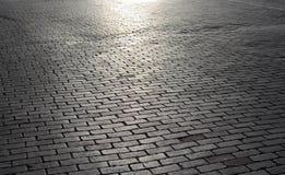 Οδός τούβλου Στοκ φωτογραφία με δικαίωμα ελεύθερης χρήσης