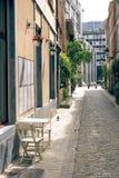 Οδός των Βρυξελλών στοκ εικόνες με δικαίωμα ελεύθερης χρήσης