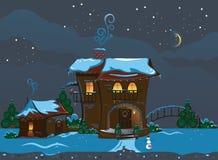Οδός Χριστουγέννων Στοκ εικόνα με δικαίωμα ελεύθερης χρήσης