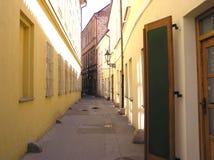 οδός δύο της Πράγας Στοκ εικόνα με δικαίωμα ελεύθερης χρήσης