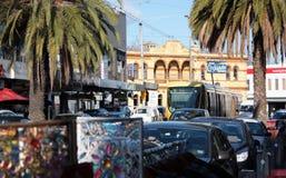 Οδός Ackland Άγιος Kilda Στοκ φωτογραφία με δικαίωμα ελεύθερης χρήσης