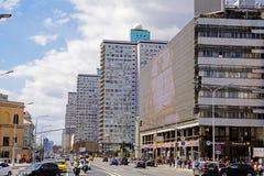 Οδός Arbat Novy στη Μόσχα Στοκ φωτογραφία με δικαίωμα ελεύθερης χρήσης